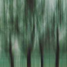 Four Trees, Budapest (green & brown) by KUJO-Photo
