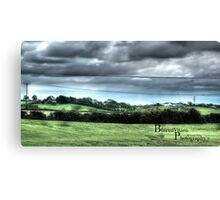 HDR Country landscape Canvas Print