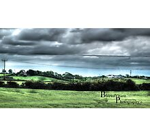 HDR Country landscape Photographic Print