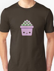 Succulent in cute pot Unisex T-Shirt