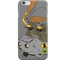 Captain Caveman Car iPhone Case/Skin