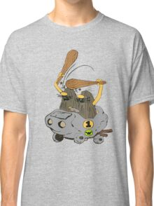 Captain Caveman Car Classic T-Shirt