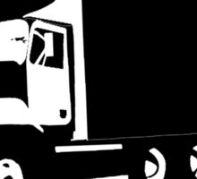 Trucking Mad T Shirt and Hoodie Sticker