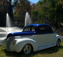 1938 Ford Custom Coupe Hot Rod by TeeMack