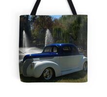 1938 Ford Custom Coupe Hot Rod Tote Bag
