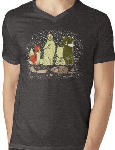 Bramble Wood Gang Mens V-Neck T-Shirt