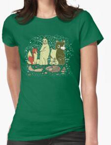 Bramble Wood Gang Womens Fitted T-Shirt