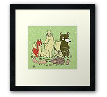 Bramble Wood Gang Framed Print