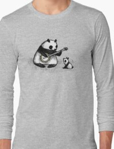 Banjo Panda Long Sleeve T-Shirt