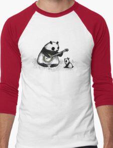 Banjo Panda Men's Baseball ¾ T-Shirt