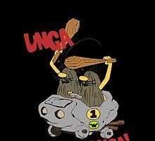 CAVEMAN Car : Unga Bunga version by 10mintolanding