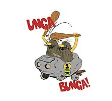 CAVEMAN Car : Unga Bunga version Photographic Print