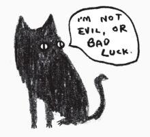 Black Cats Aren't Evil One Piece - Short Sleeve