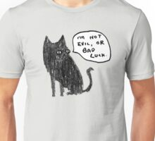 Black Cats Aren't Evil Unisex T-Shirt