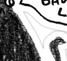 Black Cats Aren't Evil Sticker