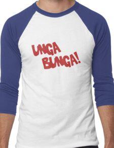 CAVEMAN Unga Bunga! Men's Baseball ¾ T-Shirt
