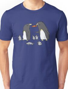 Penguin Family Unisex T-Shirt