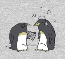 Waiting Penguins Kids Tee