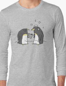Waiting Penguins Long Sleeve T-Shirt