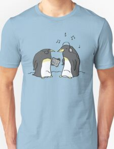 Waiting Penguins Unisex T-Shirt