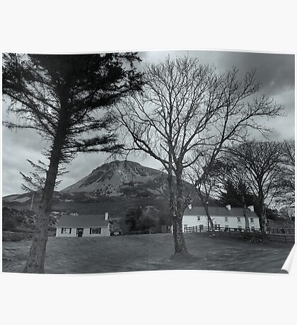In The Shadow Of Mount Errigal Poster