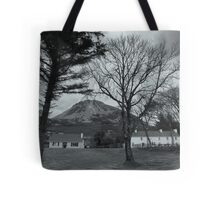 In The Shadow Of Mount Errigal Tote Bag