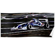 Electric Racing Poster
