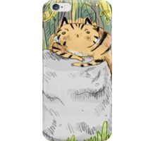 Lazy Tiger iPhone Case/Skin