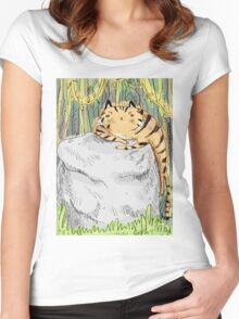 Lazy Tiger Women's Fitted Scoop T-Shirt