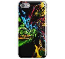Swirls Abstract Art iPhone Case/Skin