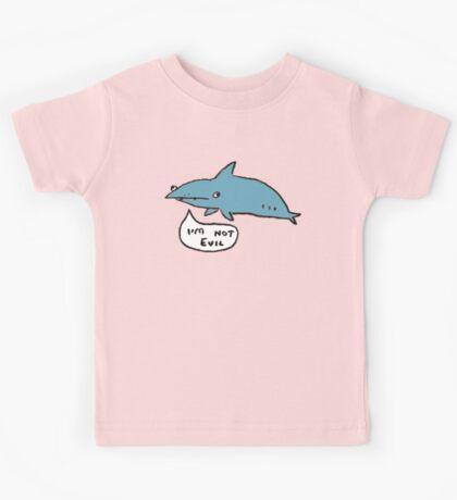 Sharks Aren't Evil Kids Tee