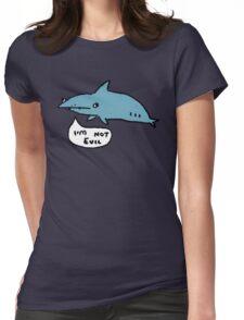 Sharks Aren't Evil Womens Fitted T-Shirt