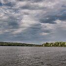 Stormy Weather at Shenango Lake RC's Marina by Sandra Lee Woods