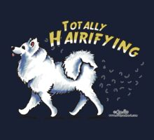Samoyed :: Totally Hairifying Kids Tee