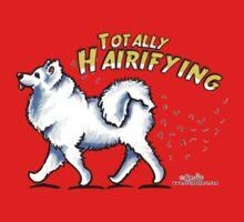 Samoyed :: Totally Hairifying One Piece - Short Sleeve