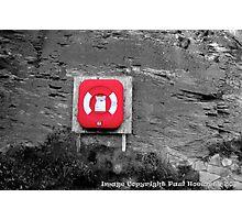 Lifesaver Photographic Print