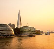 London at Dusk by Svetlana Sewell