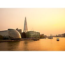 London at Dusk Photographic Print