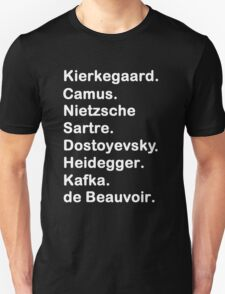 Existentialist 2 Unisex T-Shirt