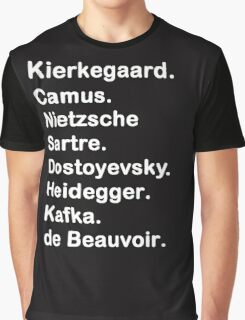 Existentialist 2 Graphic T-Shirt