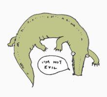 Crocodiles Aren't Evil Kids Tee