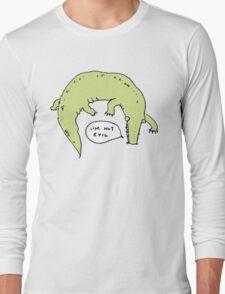 Crocodiles Aren't Evil Long Sleeve T-Shirt