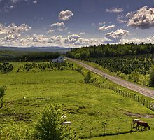 Countryside 2 by Richard Fortier