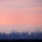 Denver's Foggy Morn by Katagram