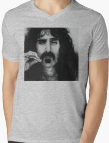 Frank Zappa Mens V-Neck T-Shirt