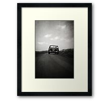 How to disappear completely Framed Print