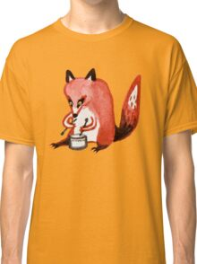 Drumming Fox Classic T-Shirt