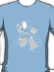 Ice Man Splattery Design T-Shirt
