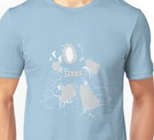 Ice Man Splattery Design Unisex T-Shirt