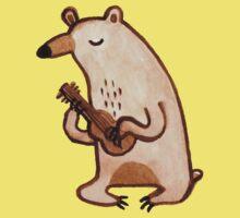 Ukulele Bear Kids Tee
